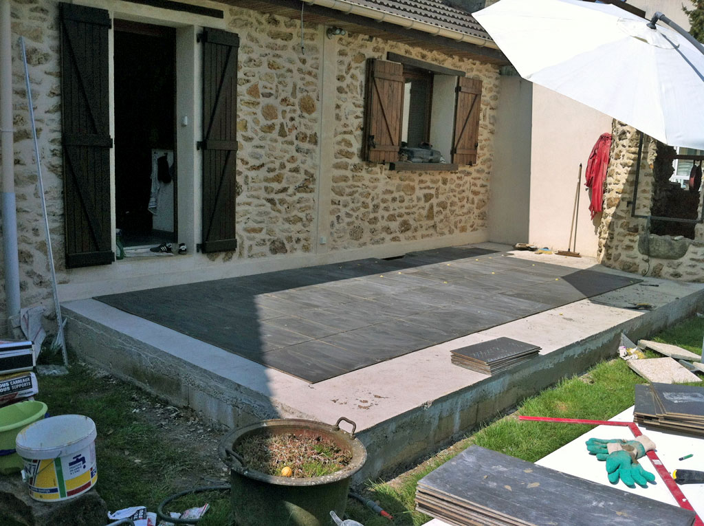 Colle carrelage exterieur weber for Carrelage pour garage castorama