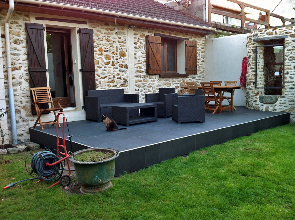 Carrelage exterieur chez leroy merlin for Grand carrelage exterieur